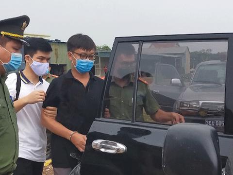 Ông Bùi Văn Thuận bị công an bắt giữ tại nhà riêng ở Thanh Hoá hôm 29/8/2021