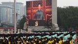 Màn hình lớn chiếu Chủ tịch Tập Cận Bình phát biểu nhân lễ kỷ niệm 100 năm Đảng Cộng sản Trung Quốc ở Bắc Kinh hôm 1/7/2021