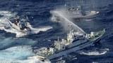 Tàu tuần duyên Nhật Bản và tuần duyên Đài Loan dùng súng phun nước xua đuổi nhau tại khu vực đảo Senkaku/Điếu Ngư