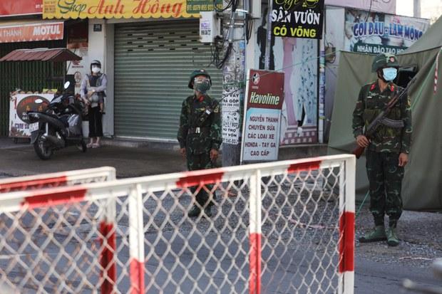 Thanh Hóa: khóa cổng nhà 278 hộ dân để phòng chống COVID-19