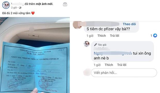 Cần Thơ lập đoàn thanh tra vụ cô gái được tiêm vắc-xin Pfizer 'do xin ông anh'